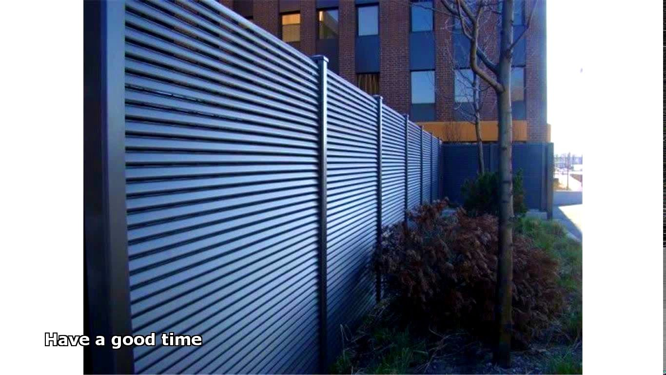 sheet metal privacy fence. Decoration : Agreeable Steel Fence Panels Sheet Metal Privacy Palm . C