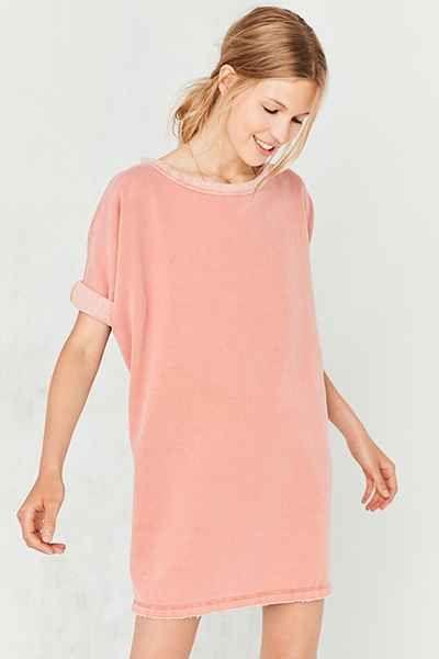 Silence + Noise Dax Dolman Sweatshirt Mini Dress - Urban Outfitters