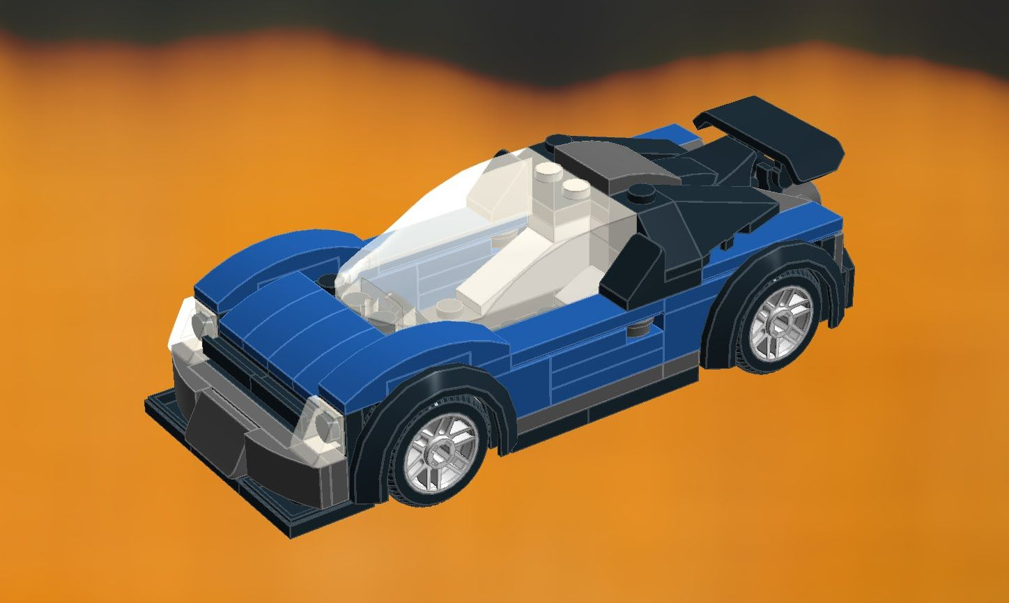 LEGO Speed Champions blue GT supercar moc 2017 model  How to
