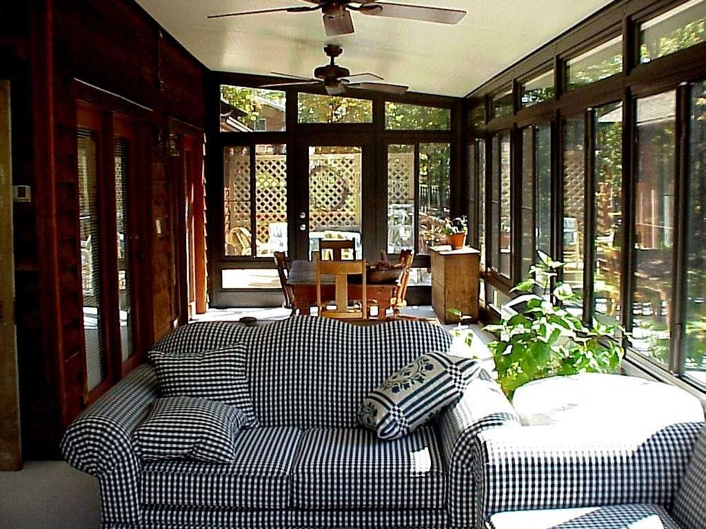"""Insulated Patio enclosure built using Structall s 3"""" Snap N Lock structural insulated panels"""