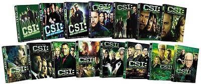 CSI Crime Scene Investigation TV Series ~ Complete Season 1-15 ~ NEW 92-DISC DVD