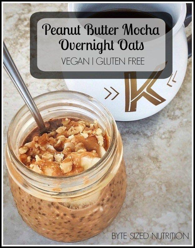 Peanut Butter Mocha Overnight Oats
