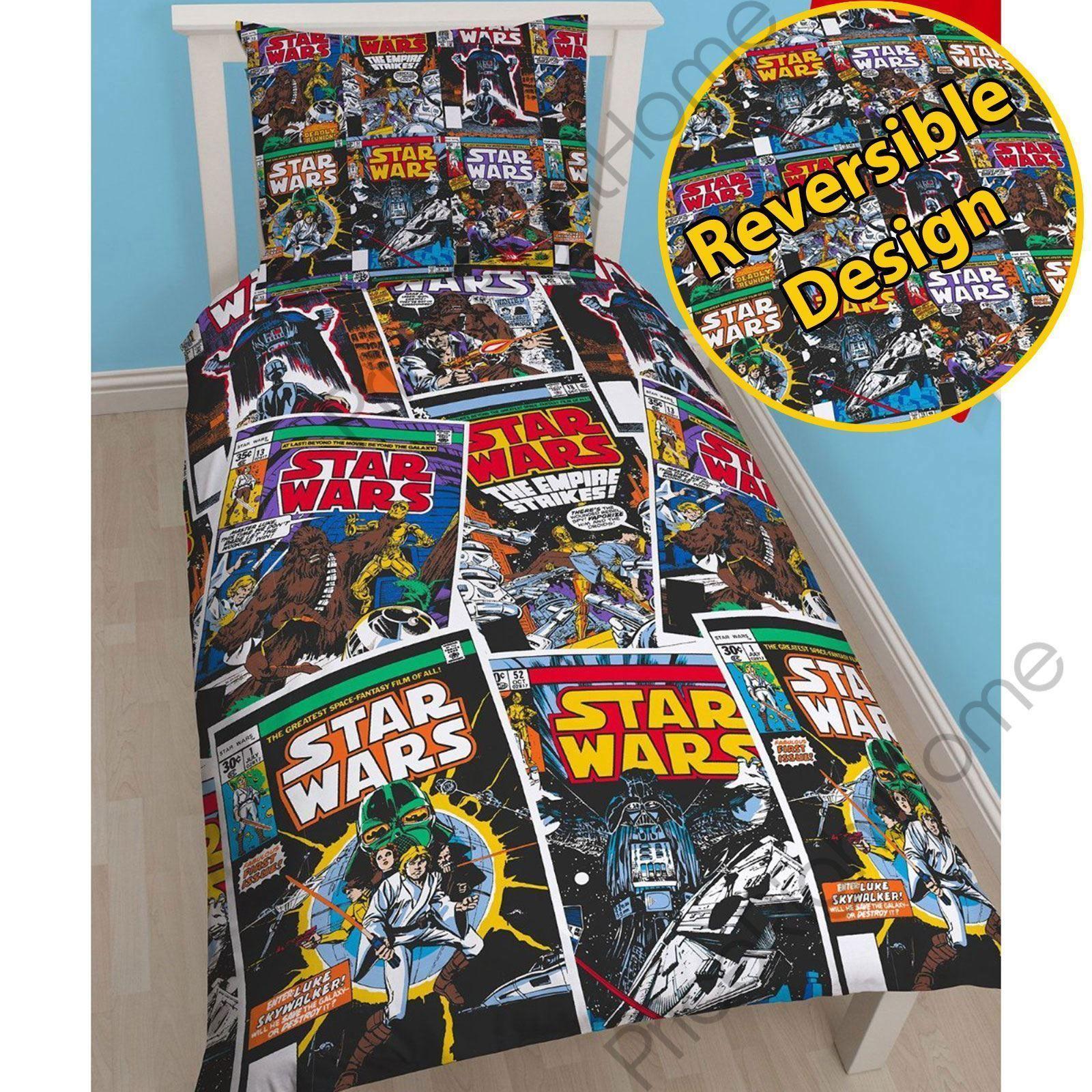 Star Wars Issues Single Duvet Cover Set  Childrens Bedding