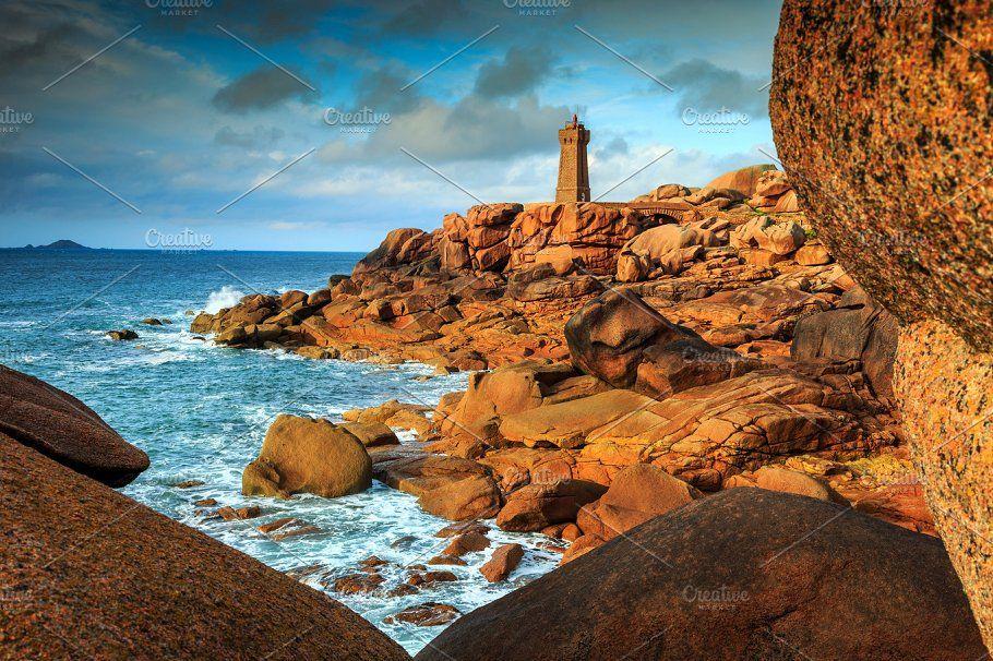 Atlantic Ocean Coast In Brittany Atlantic Ocean Ocean Brittany France