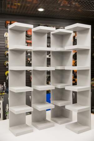How to Make Shoe Storage Display Shelves