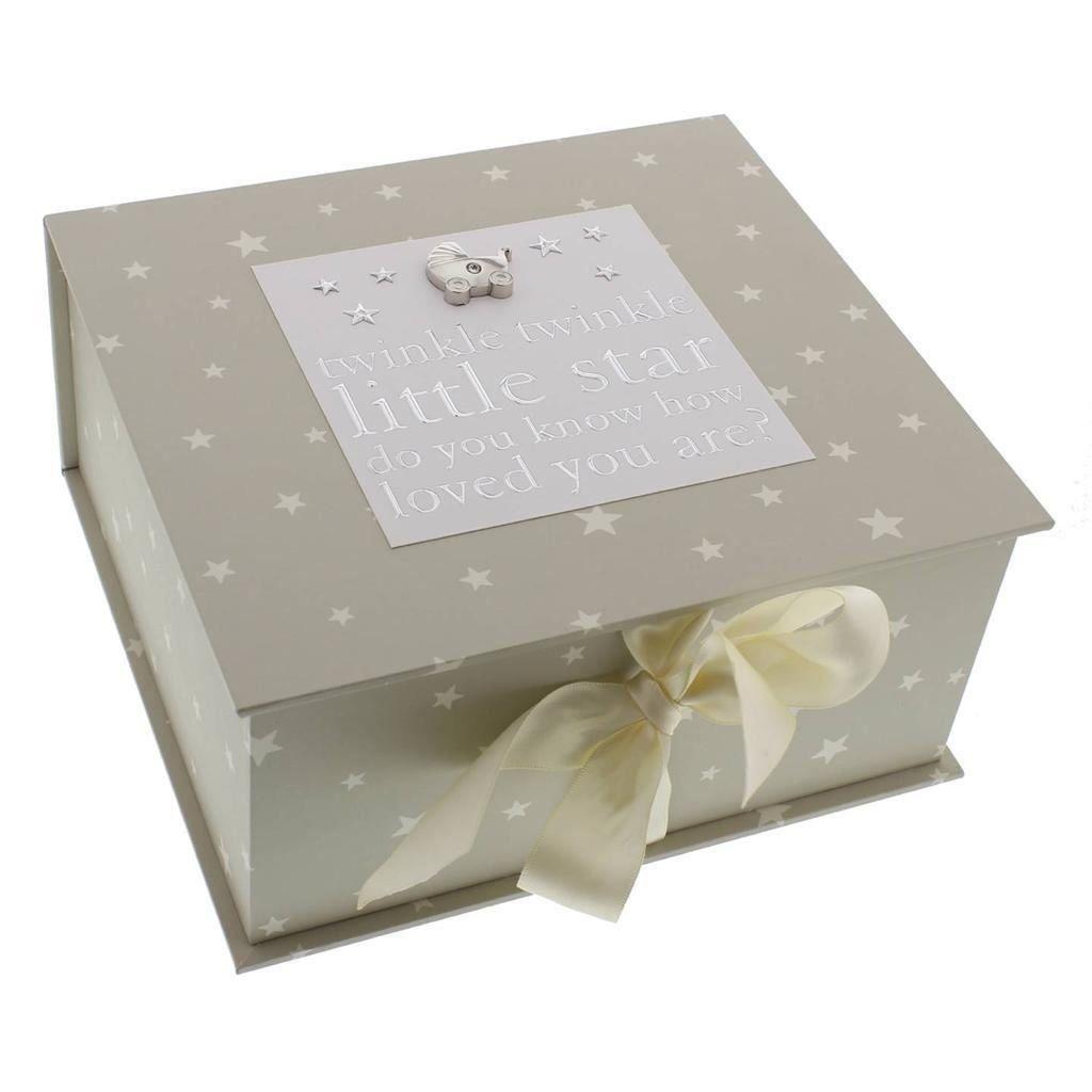 Baby Keepsake Box with Icons Baby Gift