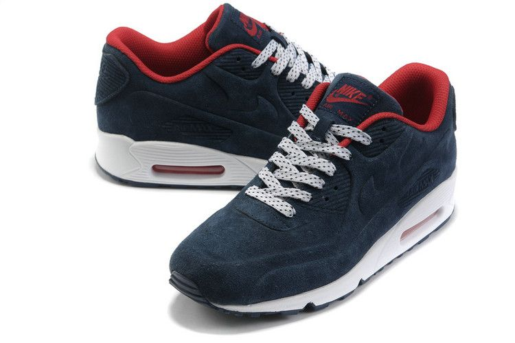 nike air max 90 rood suede