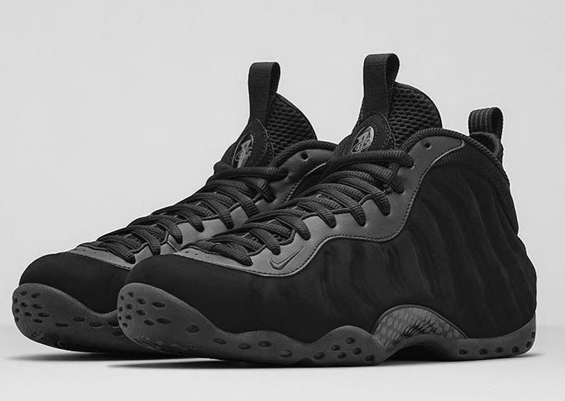 top quality nike foamposite black suede triple black 9299e 28229