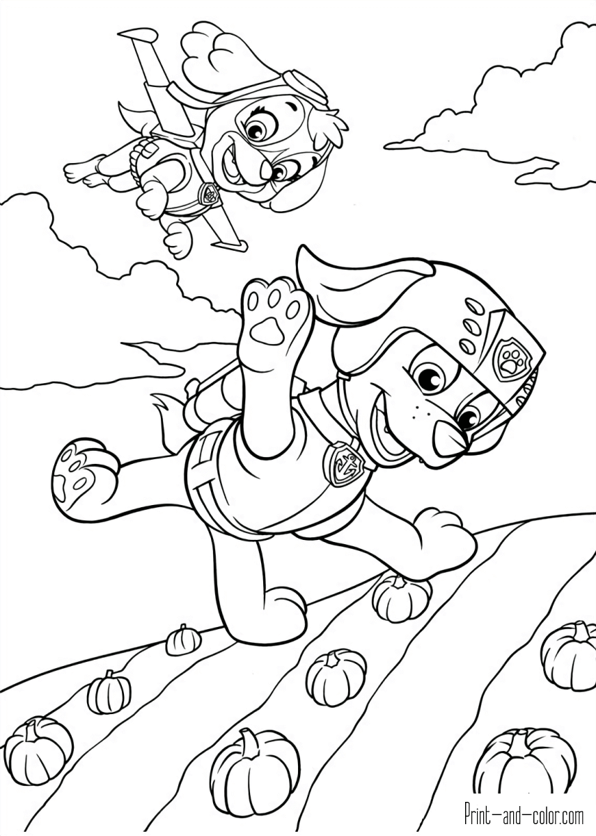 Paw Patrol Coloring Pages Paw Patrol Coloring Paw Patrol Coloring Pages Coloring Pages