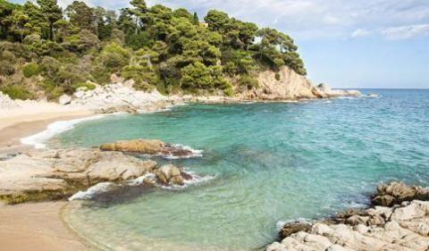 Playa La Boadella En Lloret De Mar Costa Brava Calas Costa Brava Ruta Costa Brava Playa