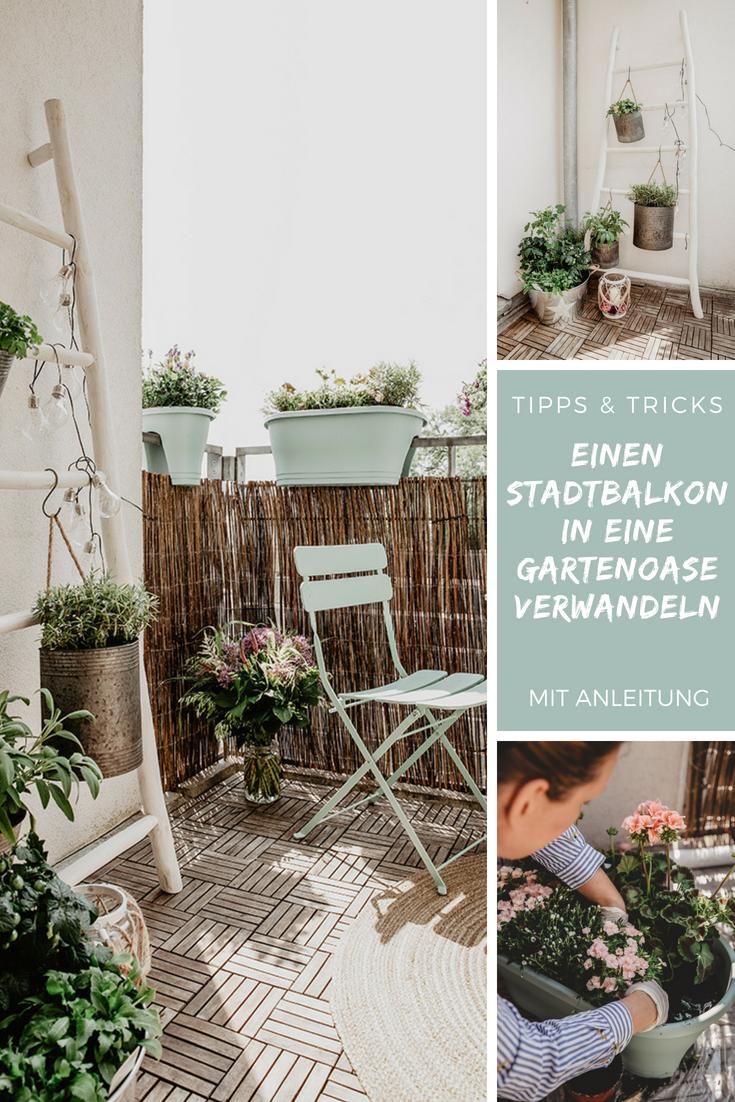 diy balkon garten gestalten - meine tipps & tricks für urbane oasen