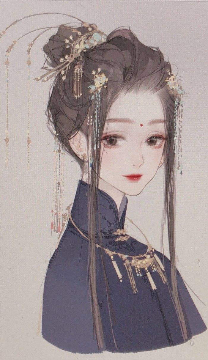 Classical Beauty Anime Art Girl Chinese Art Girl Manga Art