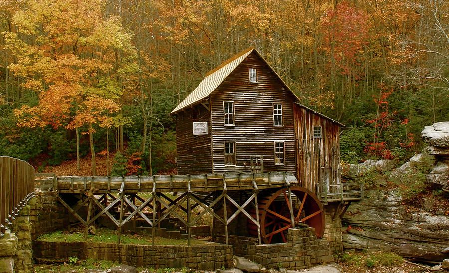 Pin on Old grist mill