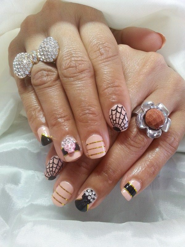 Day 302: Pretty in Pink Nail Art | Pink nails, Style nails and Nails ...