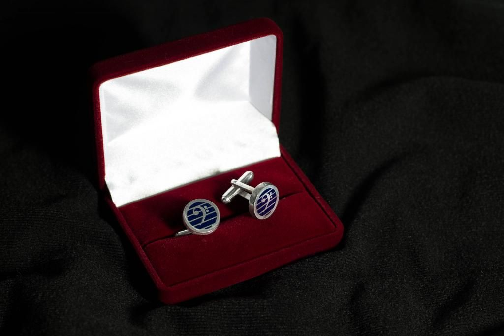 Spinki Do Mankietow Klucz Basowy Srebro 925 6009474195 Oficjalne Archiwum Allegro Class Ring Cufflinks Jewelry
