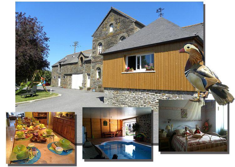 LA ROCHELLE GITES ET CHAMBRES Du0027HOTES A LA FERME à Roz-Landrieux en - chambre d hotes aix en provence piscine