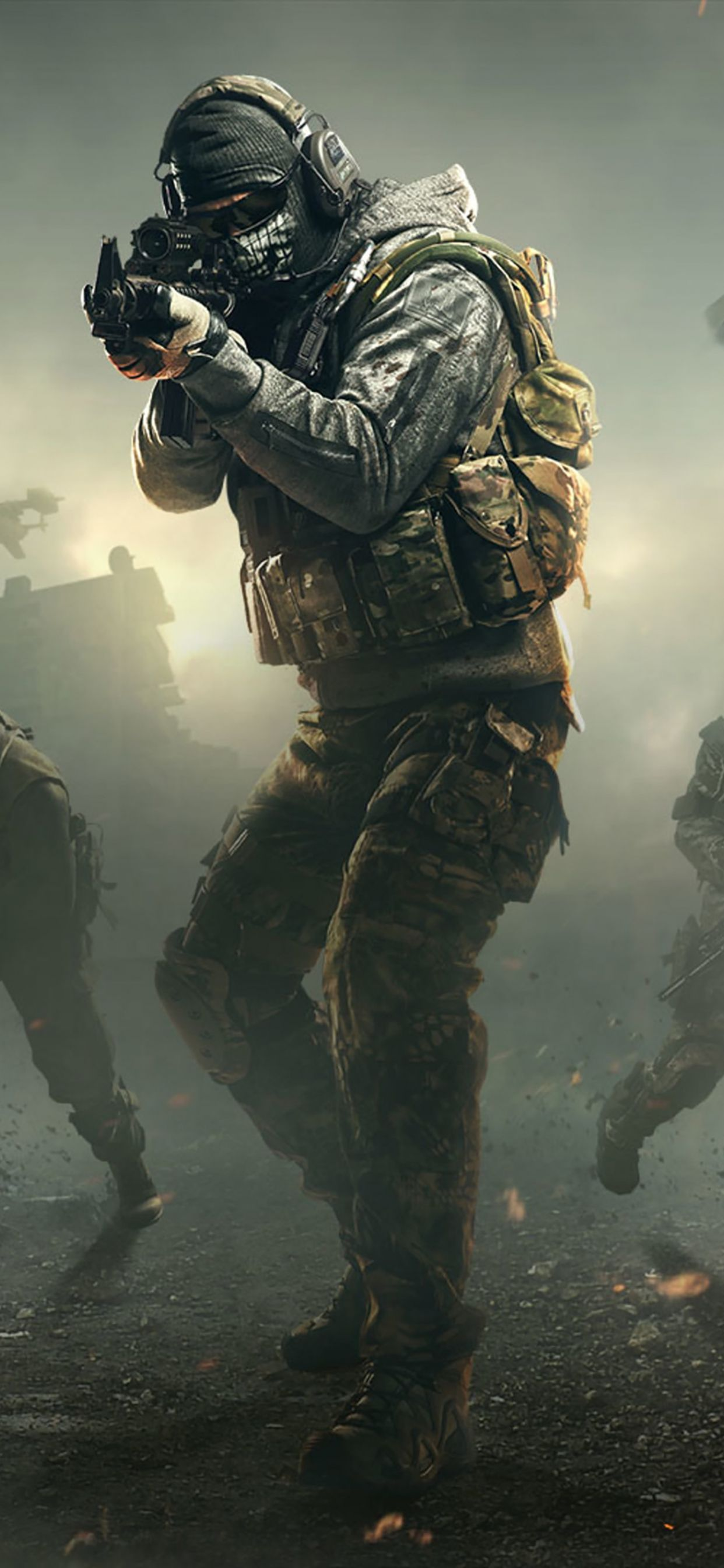 Call Of Duty Mobile 2019 Iphone 11 Pro Max Wallpaper Call Of Duty Call Of Duty Ghosts Army Wallpaper