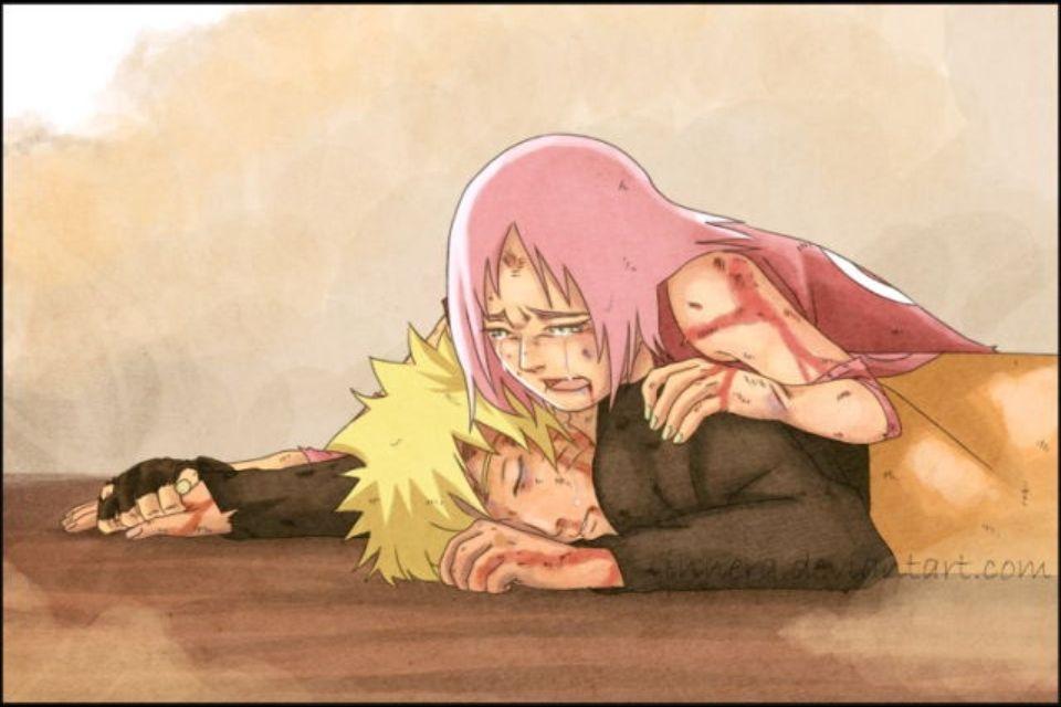 Narusaku: Don't leave me