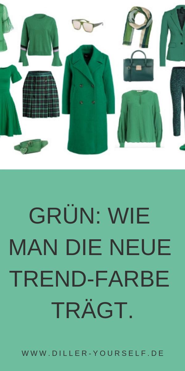 """Greenery- die Modefarbe des Jahres- sollen wir jetzt alle wie Kermit aussehen? Greenery wird auch 2019 noch top aktuell sein, denn bis Farben ihren Weg in die Boutique schaffen, dauert es ein wenig länger, machnmal sogar einige Saisons. Vielen Menschen fallen """"neue"""" Modefarben auch deshalb erst auf, wenn sie sie häufig auf der Strassen an anderen sehen. #Greenery #Modefarbe #Mode #Outfit"""