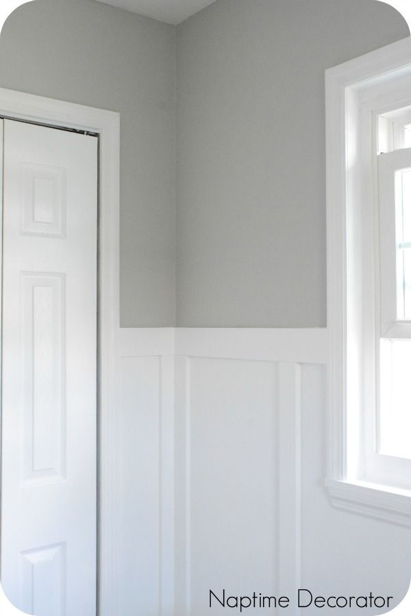 The Perfect Gray Paint Color And A Sneak Peek Of The New Office Perfect Grey Paint Color Perfect Grey Paint Light Gray Paint