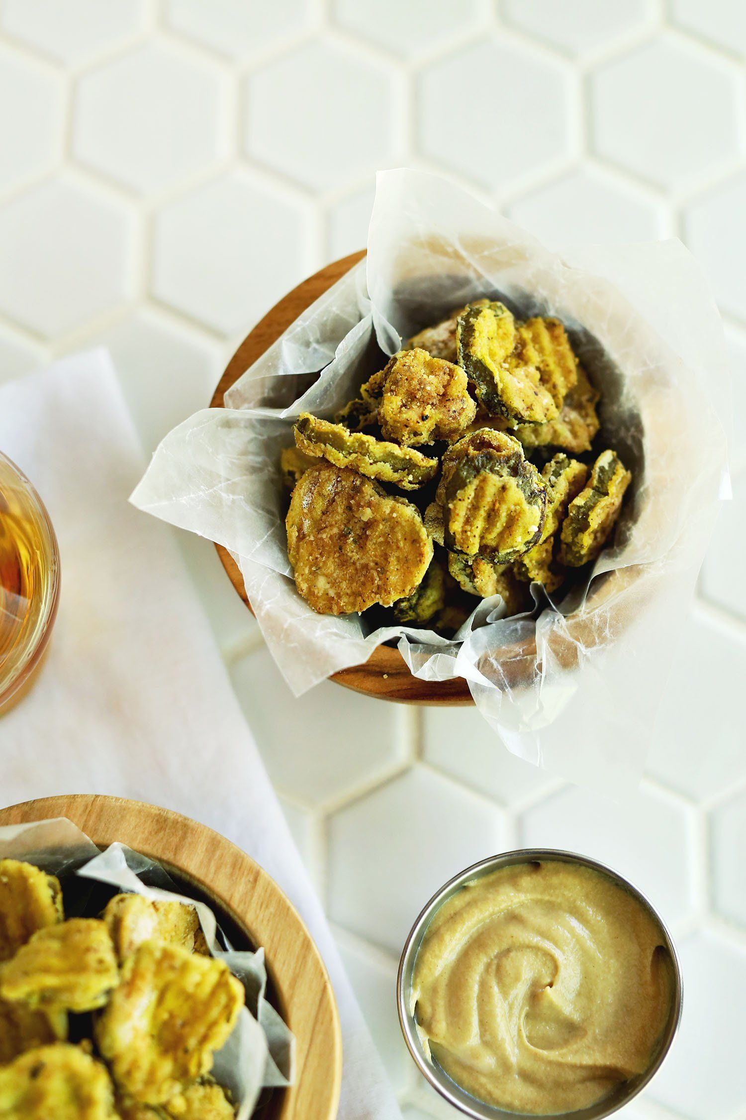 These Crunchy Air Fryer Fried Pickles are Delicious Air