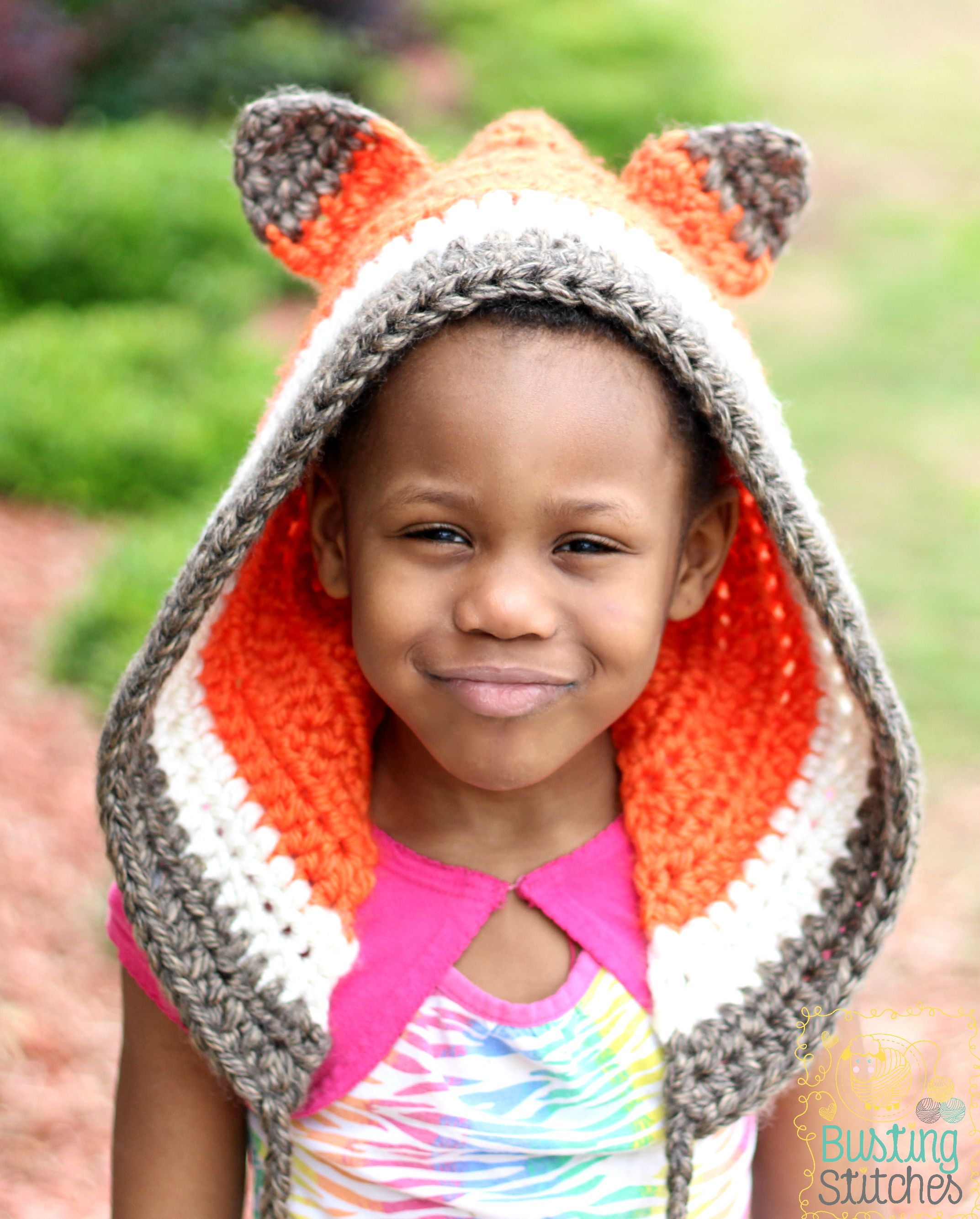 Crochet Fox Bonnet | Hood pattern, 12 months and Hoods