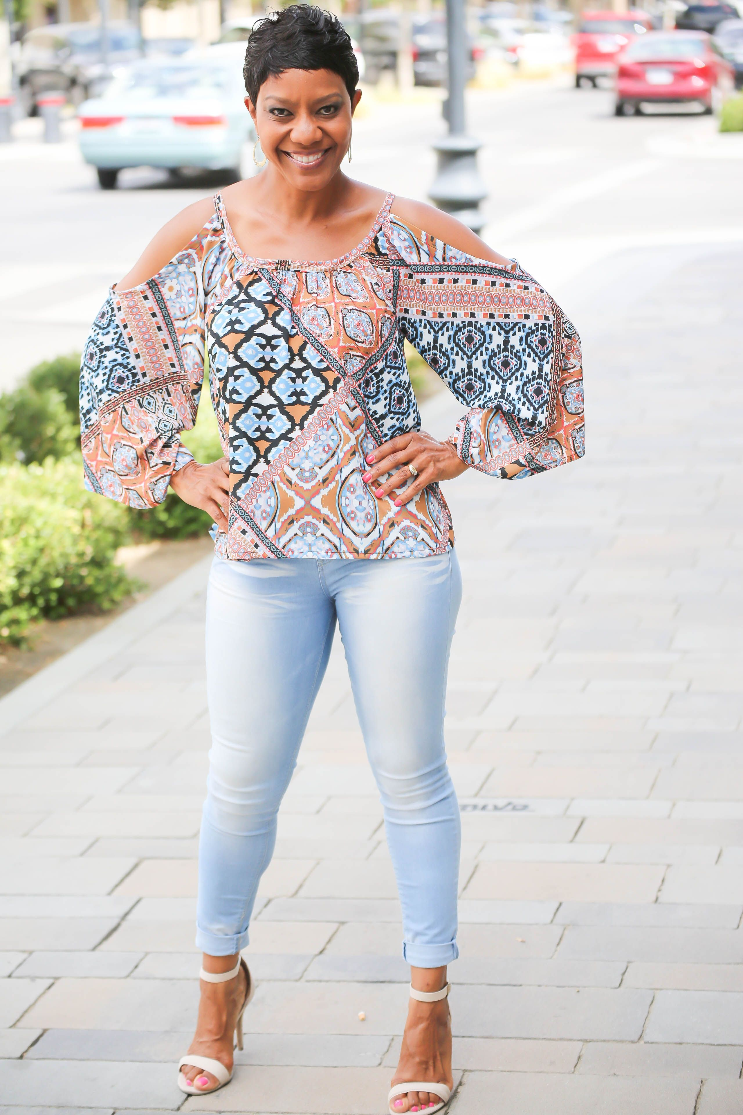 d8c798f9c5cee Dare to Bare  Cold Shoulder Top