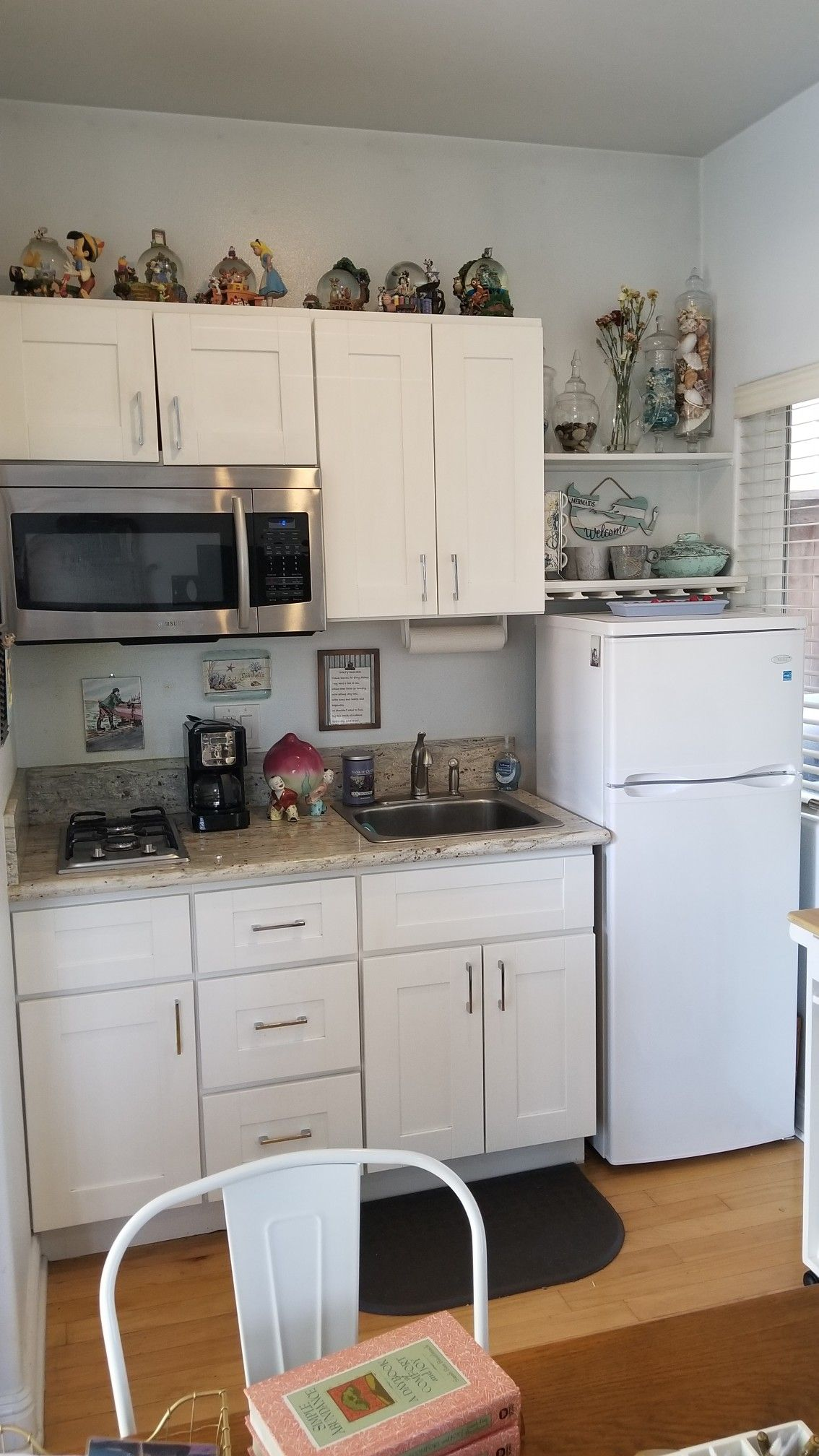 Love My Kitchen Area Cabinet Under Sink Holds Small Appliances