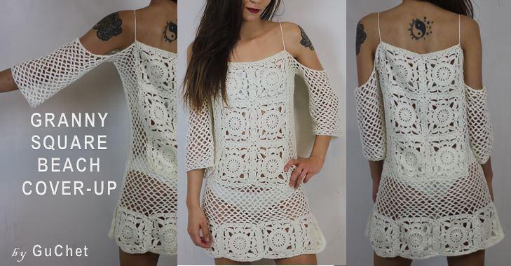 Crochet Swimsuit Cover Pattern By Gu'Chet Crochet Patterns And Delectable Crochet Swimsuit Cover Up Pattern