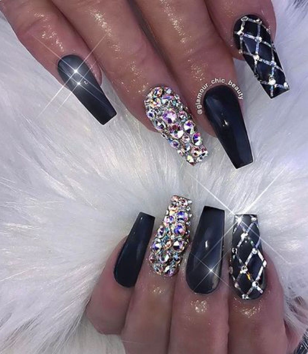 Pin by Amanda Wilson on Nails | Pinterest | Nail inspo, Sweet 16 ...