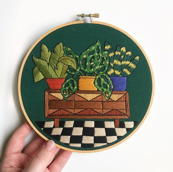 17 planting Pattern embroidery ideas