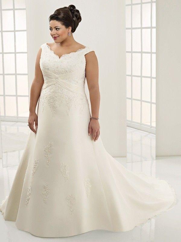 ... große größen, Hochzeitskleider große größen a Partykleider lang