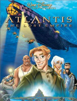 Revisiting Disney Atlantis The Lost Empire Walt Disney Movies Atlantis The Lost Empire Disney Movie Collection