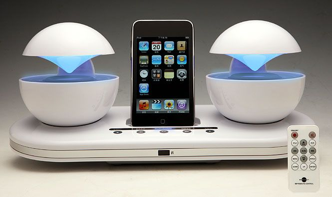 iCrystal modern speaker dock for iDevices | Apple Tech | Pinterest ...