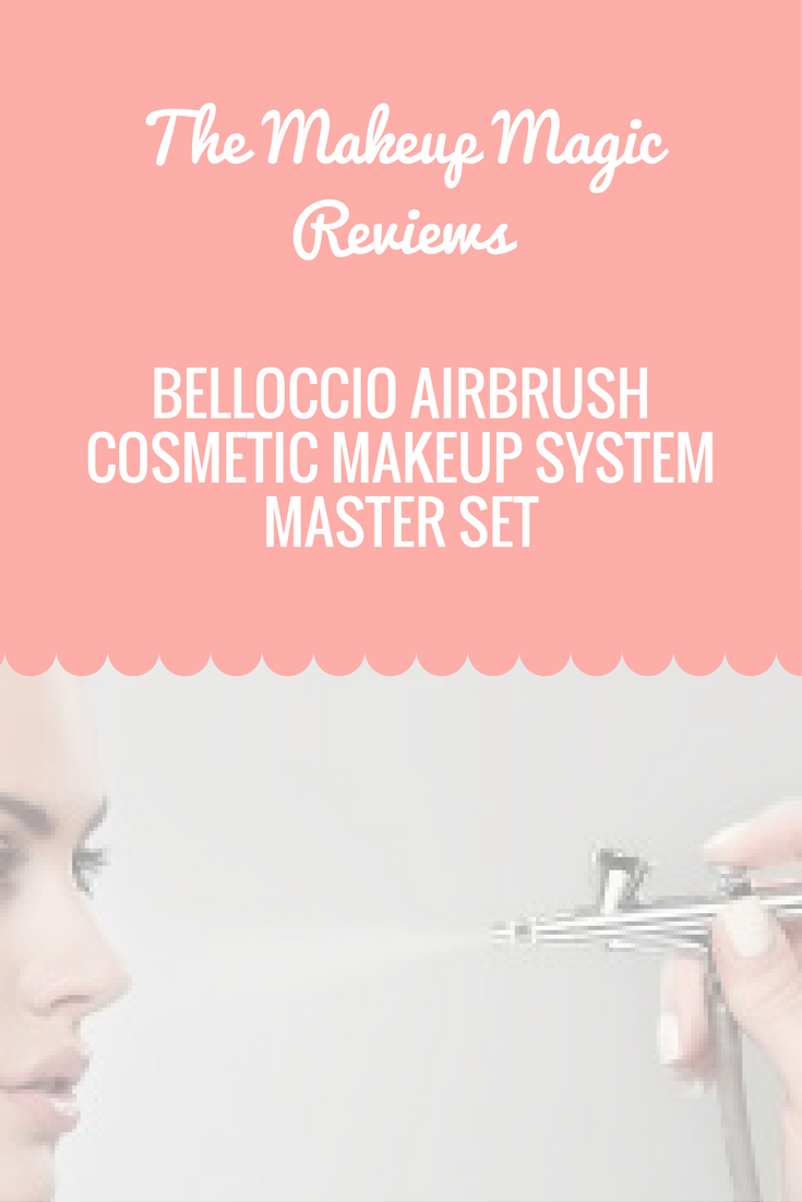 Belloccio Airbrush Cosmetic Makeup System MASTER SET