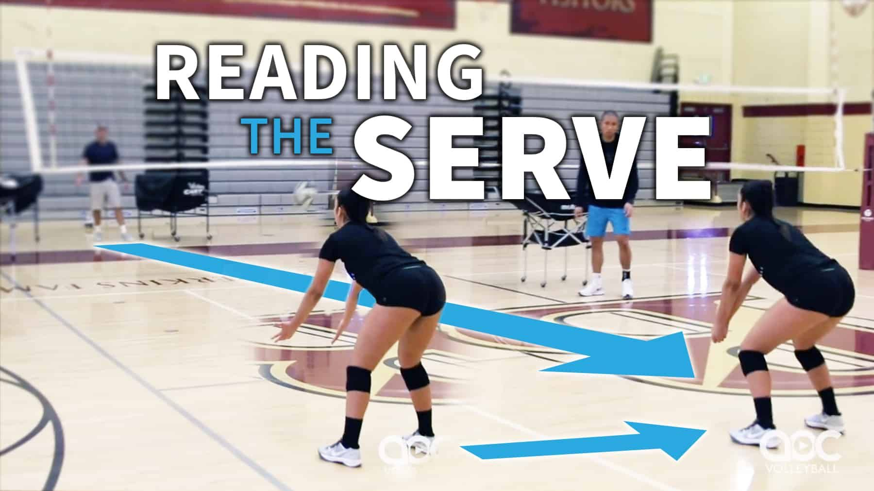 Is Your Passer Reading The Serve Soon Enough The Art Of Coaching Volleyball Coaching Volleyball Volleyball Workouts Volleyball Serve