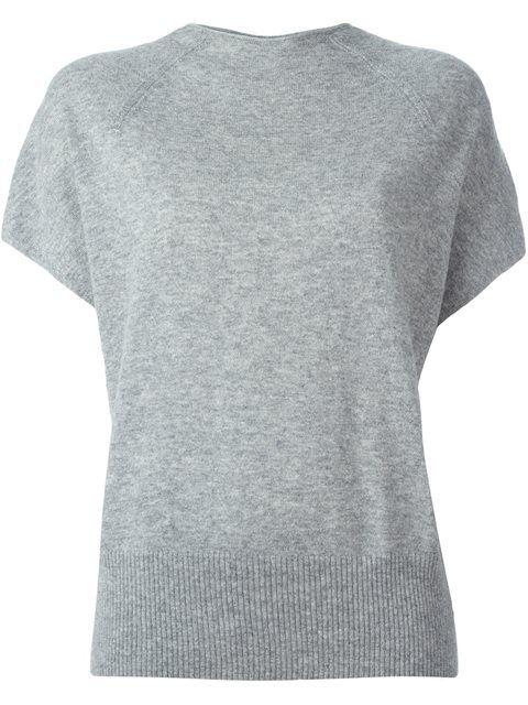 VINCE Knitted T-Shirt. #vince #cloth #t-shirt