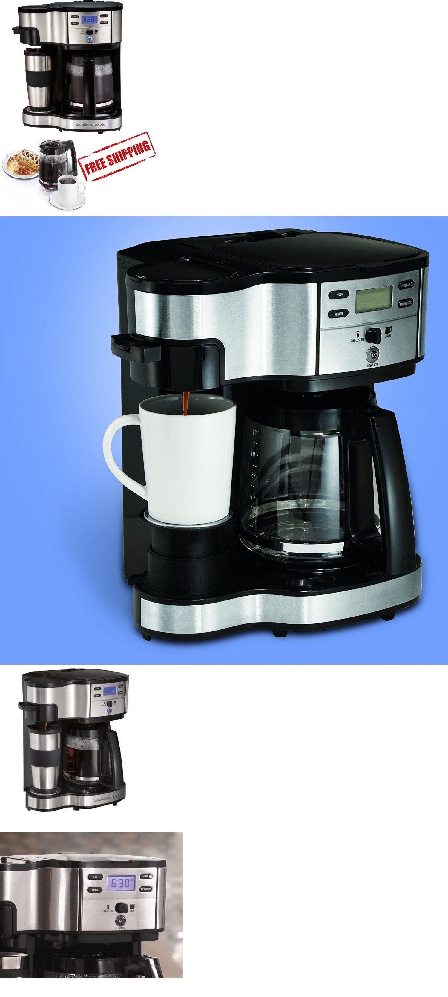 Filter Coffee Machines 184665 Hamilton Beach 2 Way Brewing Coffee
