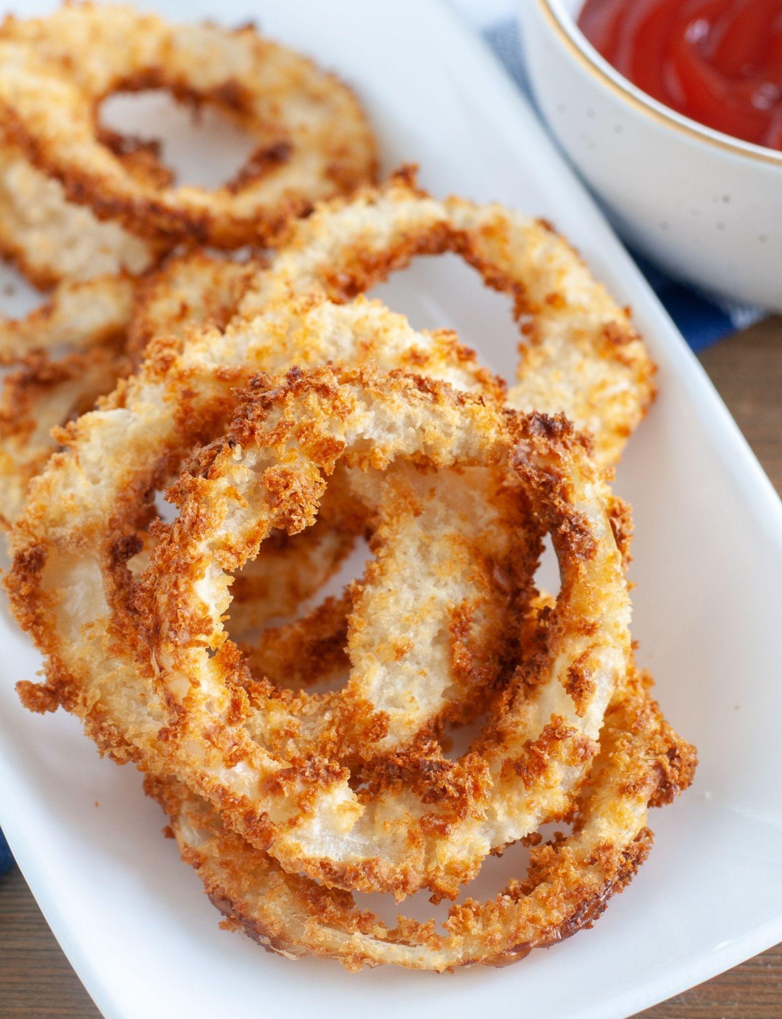 Air Fryer Onion Rings in 2020 Onion rings, Air fryer
