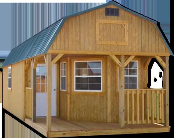 Derksen Deluxe Barn Cabin Portable buildings, Small