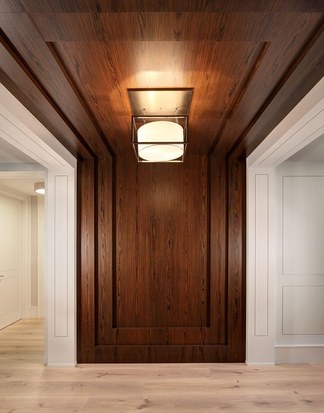 Entry Foyer The Entry Features A Modern Twist On Wall Paneling By Creating A Flush Panel D Wall Paneling Ideas Living Room Modern Wall Paneling Wall Paneling
