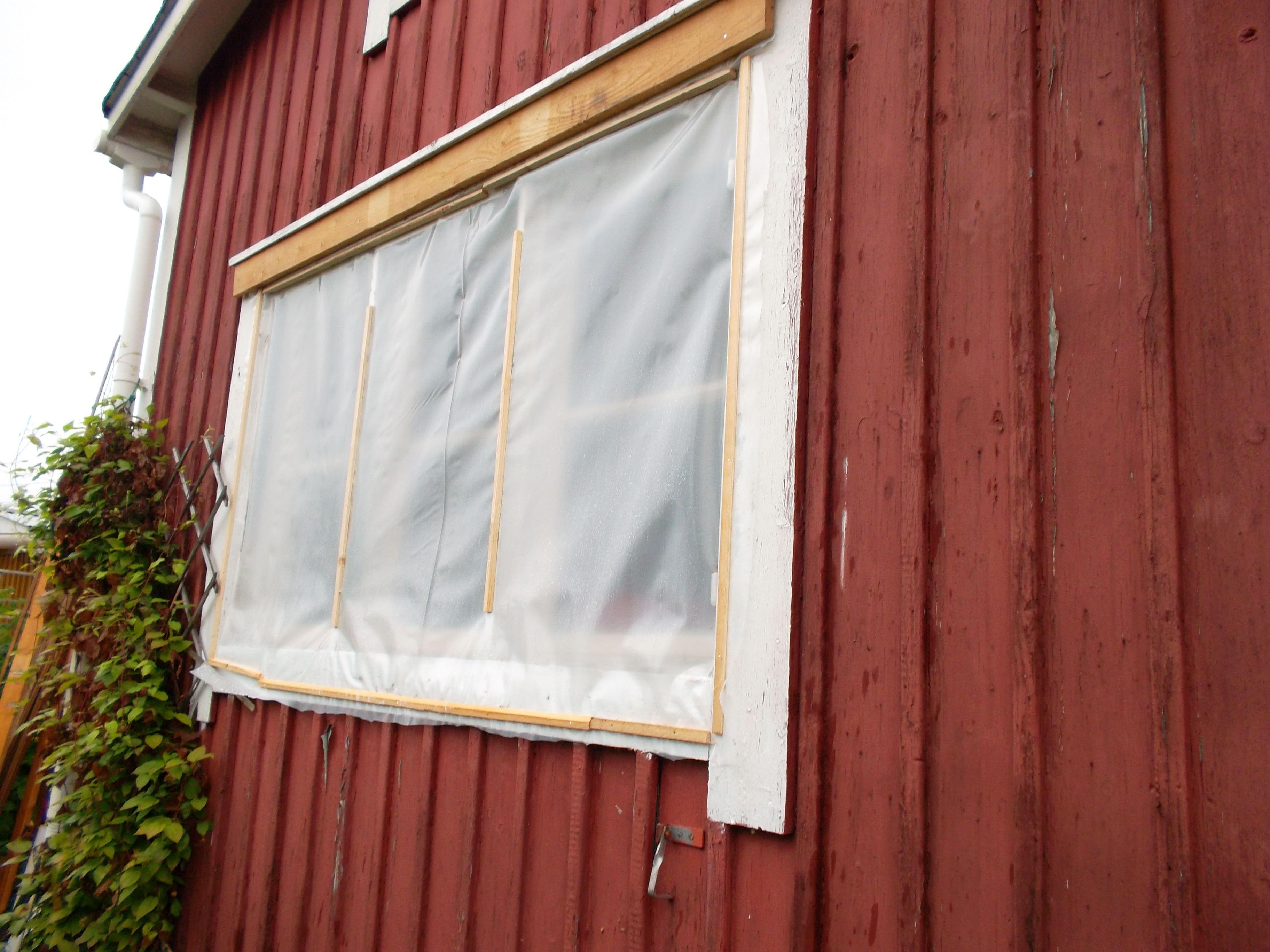 Ikkunat remontissa