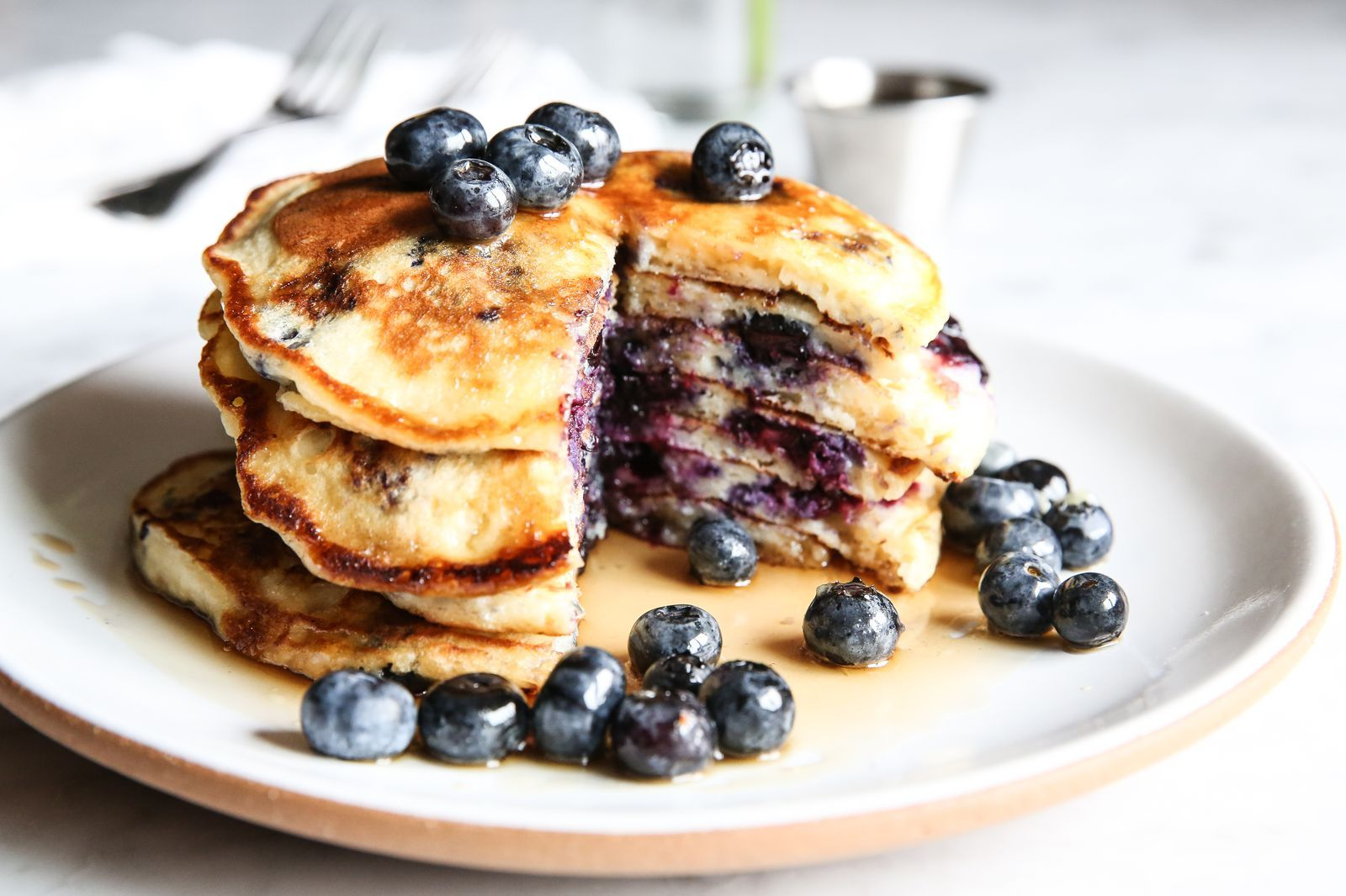 Blueberry Buttermilk Pancakes Are A Brunch Must Recipe Blueberry Pancakes Recipe Easy Brunch Recipes Pancake Recipe Easy