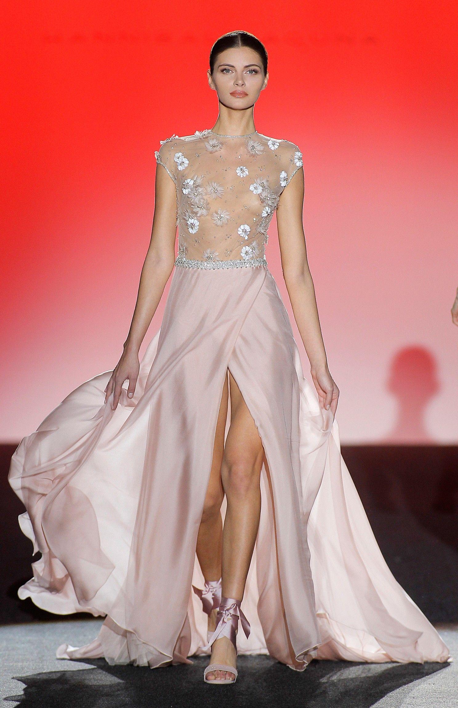Otoño - Invierno 2017 - 2018 - Couture HAnnibal Laguna | Vestidos ...