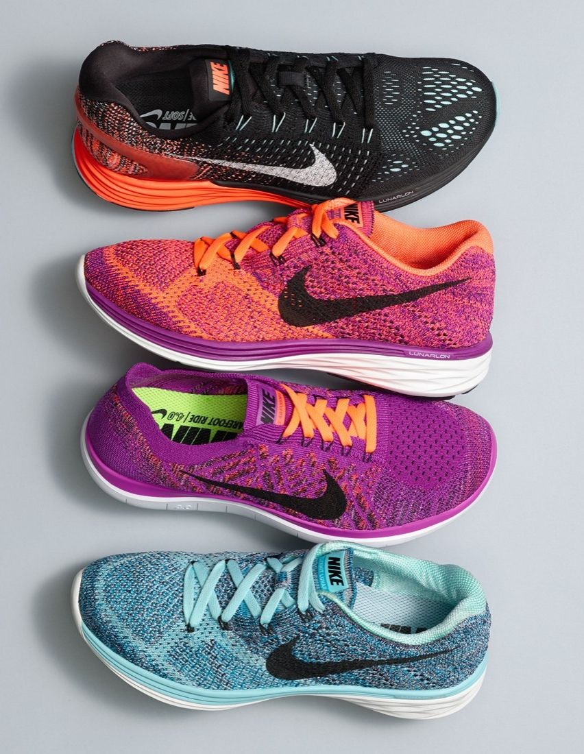 new style 0d72e 28d0a Obsessing over these colorful Nike shoes that are perfect for working out  in style.