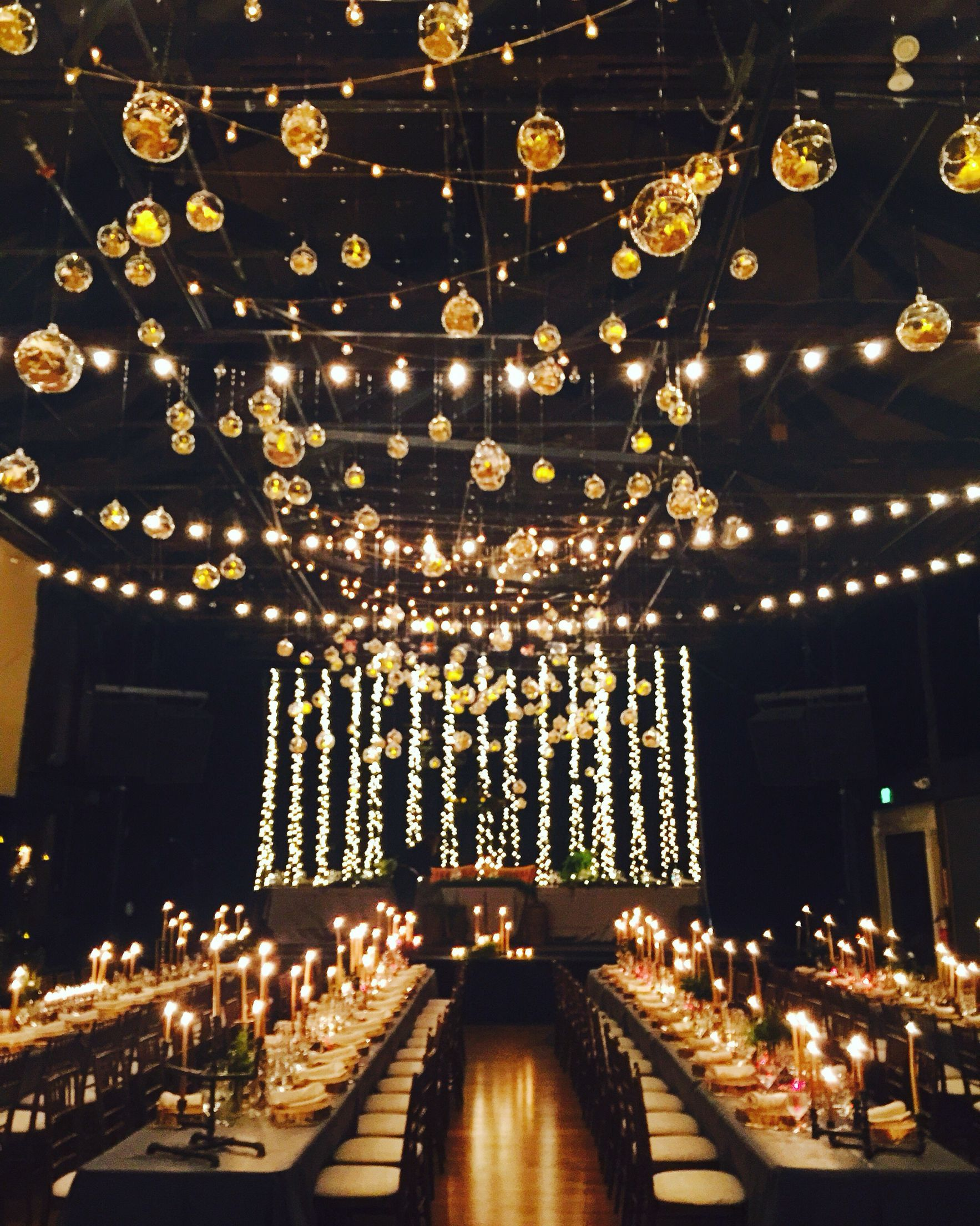 Dramatic and magical fall wedding at Miners Foundry in