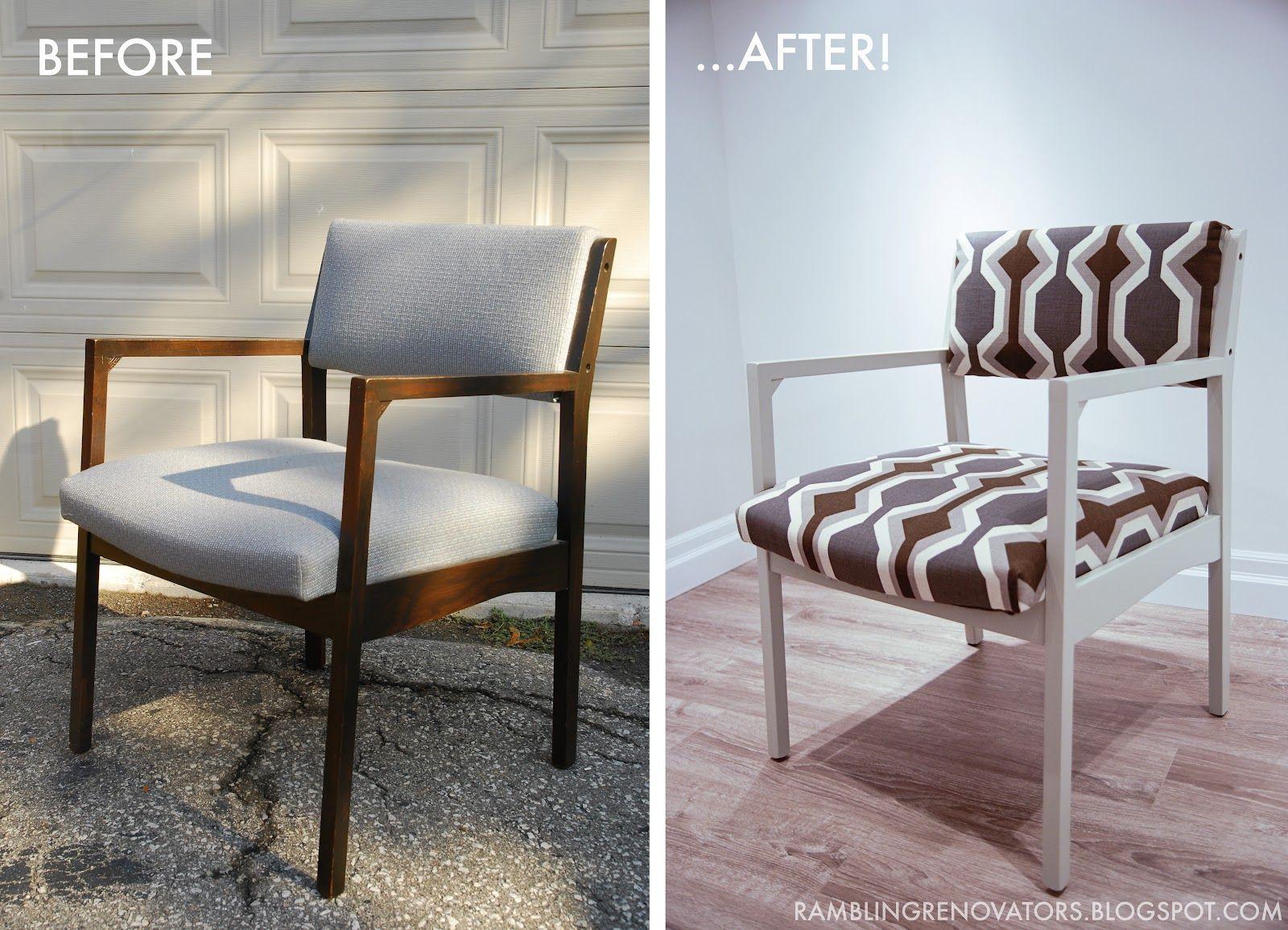 Rambling Renovators Diy Retro Chair Makeover I Think