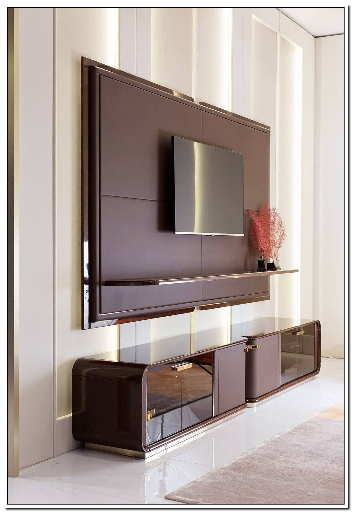 79 Reference Of Wall Tv Stand Designs Wooden Wall Tv S