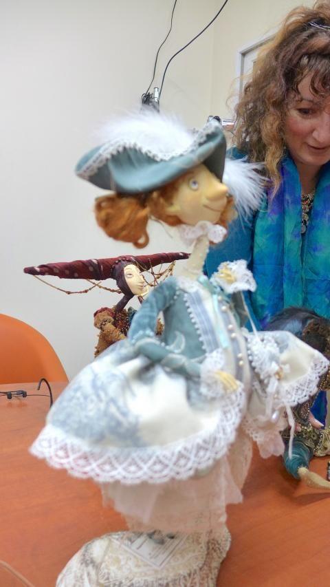 Рукотворное чудо - элитные и уникальные куклы в гостях на радиостанции Фонтанка ФМ