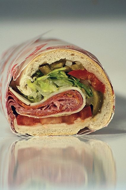 italian in subway strips Girl